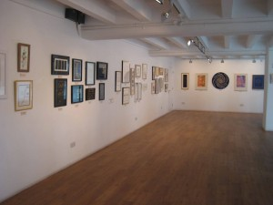 the gallery inside